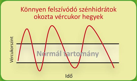 A hipoglikémia elkerülése a vércukorszint ingadozásának felszámolásával.